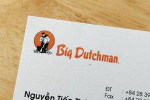 in Danh thiếp Big Dutchman