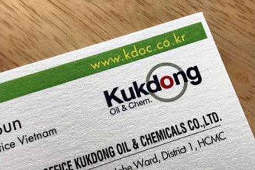 Danh thiếp Japan Kukdong