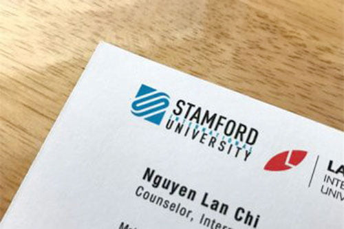 Danh thiếp Stanford University