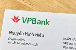Danh thiếp VPbank