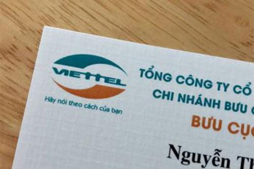 Danh thiếp Viettel