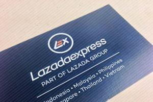 Danh thiếp Lazada Express
