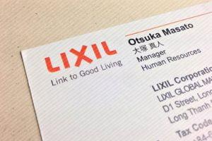 Danh thiếp Lixil