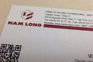 Danh thiếp Nam Long