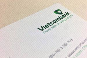 Danh thiếp Vietcombank