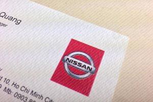 in Danh thiếp giấy mỹ thuật Nissan
